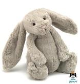 Jellycat knuffels Bashful bunny knuffelkonijn beige Jellycat 31 cm