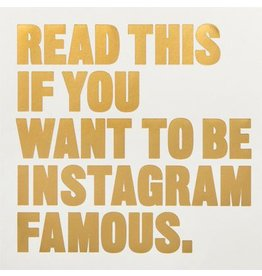 Henry Carroll Read This if You Want to Be Instagram Famous