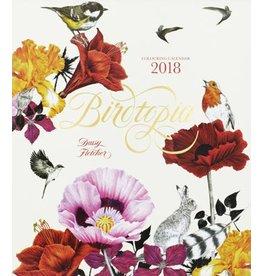Daisy Fletcher Birdtopia 2018 Colouring Calendar