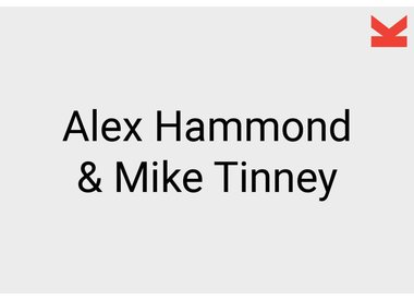 Alex Hammond and Mike Tinney