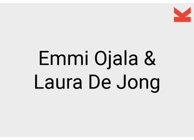 Emmi Ojala and Laura de Jong