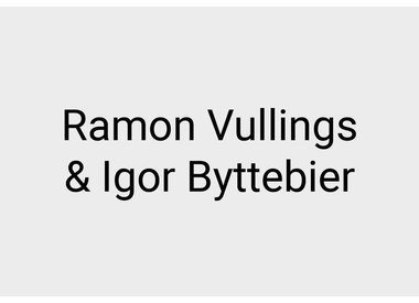 Ramon Vullings and Igor Byttebier
