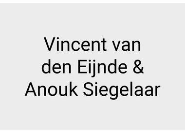 Vincent van den Eijnde en Anouk Siegelaar