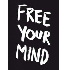 Marcus Kraft Free Your Mind Postcard Block