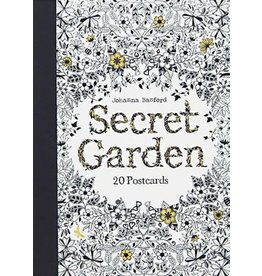 Johanna Basford Secret Garden: 20 Postcards