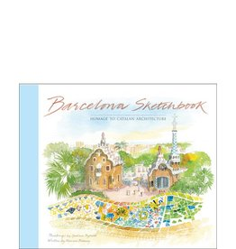 Graham Byfield Barcelona Sketchbook