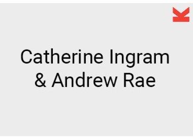 Catherine Ingram and Andrew Rae