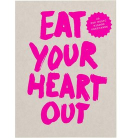Marcus Kraft Eat Your Heart Out Postcard Block