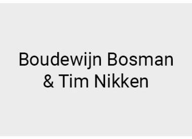 Boudewijn Bosman & Tim Nikken