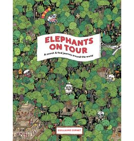 Guillaume Cornet Elephants on Tour