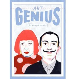 Illustrations by Rebecca Clarke Genius Art (Genius Playing Cards)