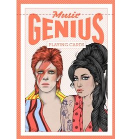 Illustrations by Rik Lee Genius Music (Genius Playing Cards)