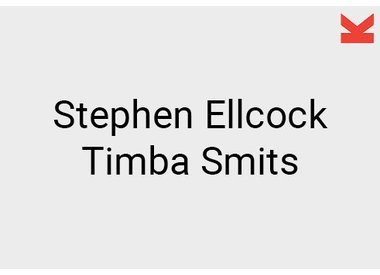 Stephen Ellcock and Timba Smits