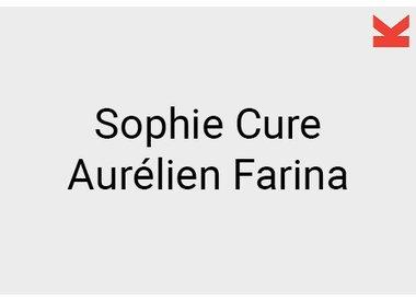 Sophie Cure and Aurélien Farina