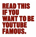 Will Eagle Read This if You Want to Be YouTube Famous