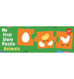 Kanae Sato My First Story Puzzle Animals