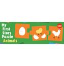 Kanae Sato My First Story Puzzle Animals