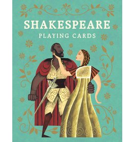Leander Deeny, illustrations by Adam Simpson Shakespeare Playing Cards
