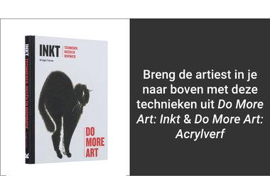 Do More Art: Acrylverf & Inkt