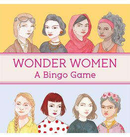 Isabel Thomas, illustrations by Laura Bernard Wonder Women Bingo