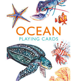 Holly Exley Ocean Playing Cards