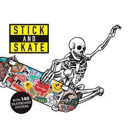 Stickerbomb Stick and Skate
