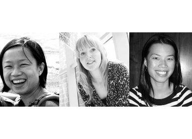 Joyce Yee, Emma Jefferies and Lauren Tan