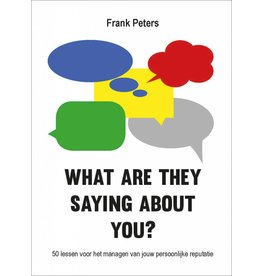 Frank Peters What are They Saying About You? NL