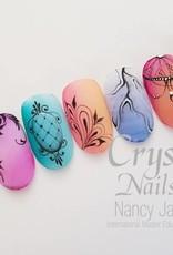 Salon Nailart Design met acrylverf
