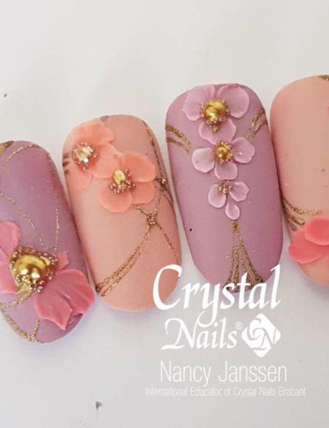 Flower Vintage Lace Gel - 3D Nailart met Gel
