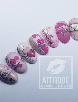 Online Nailart Workshop | Sweet DIY Valentine