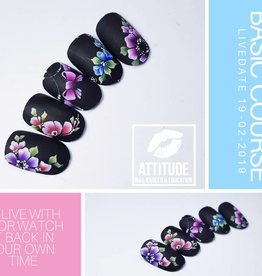 Online Nailart Course | One stroke