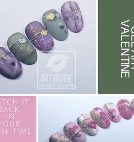 Online Nailart Course | Vintage Valentine