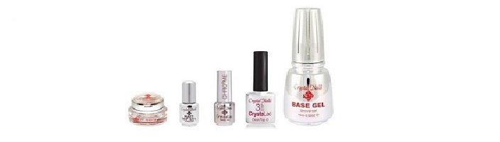 Crystal Nails - Base & Top gel