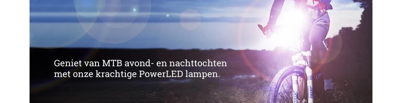 Krachtige MTB LED fietslamp