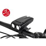 MTB LED Fietslamp Compact USB oplaadbaar 800 lumen