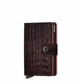 Secrid Secrid Mini Wallet Nile Brown pasjeshouder