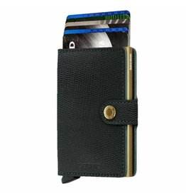 Secrid Secrid Mini Wallet Rango Green Gold pasjeshouder