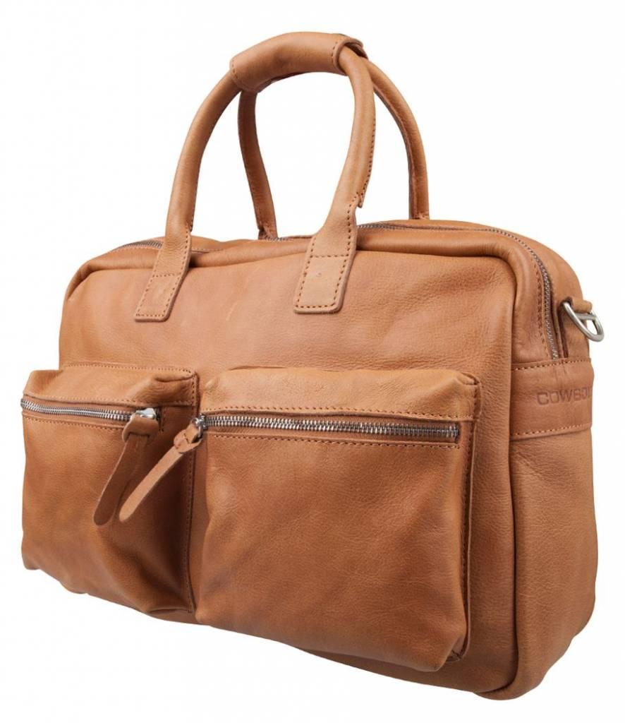 bd4ff9c95f2 cowboysbag the bag one Tobacco - Cargotravelshop.nl