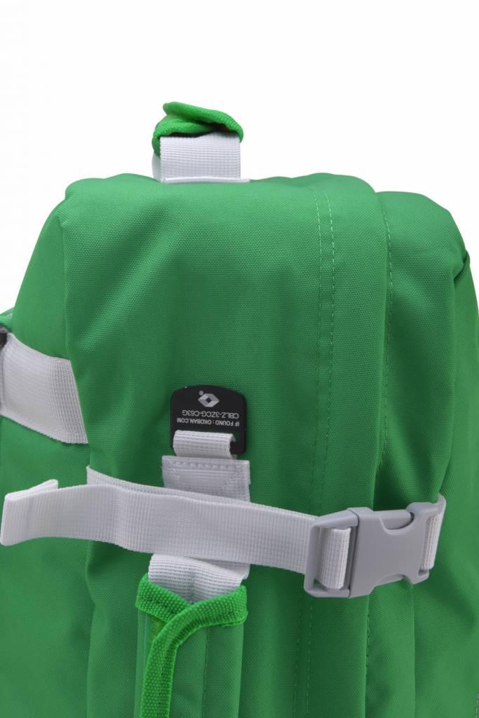 Cabinzero Cabinzero Classic handbagage Kinsale Green ultralichte cabin rugzak