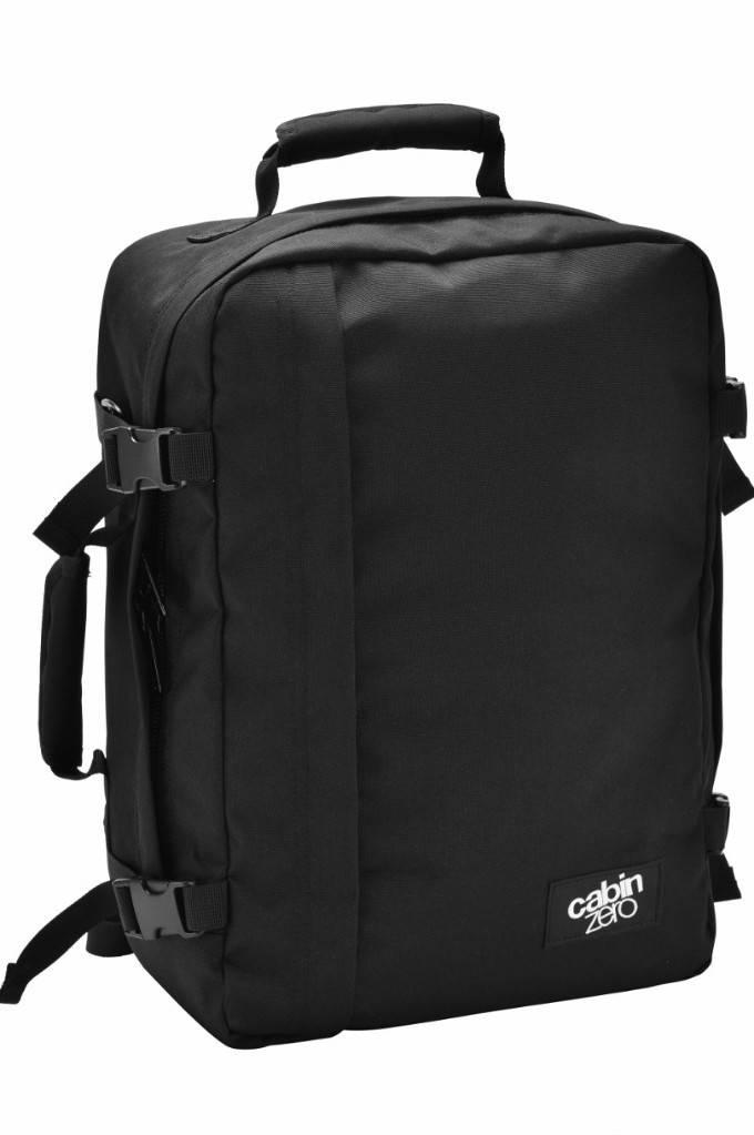 Cabinzero Cabinzero Classic 36L - handbagage rugzak - Absolute Black