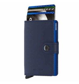 Secrid Secrid Mini Wallet Original Navy Blue pasjeshouder