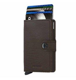 Secrid Secrid Mini Wallet Rango Brown Brown pasjeshouder