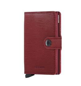 Secrid Secrid Mini Wallet Rango Red Bordeaux pasjeshouder
