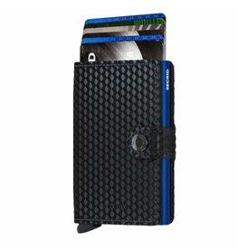 Secrid Secrid Mini Wallet Cubic Black Blue