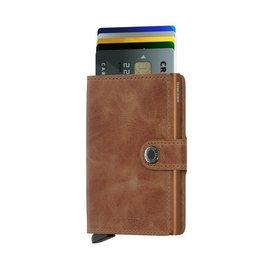 Secrid Secrid Mini Wallet Vintage Cognac Rust pasjeshouder