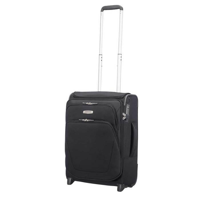 Samsonite Samsonite Spark SNG Upright 55 exp Toppocket zwart  handbagagekoffer