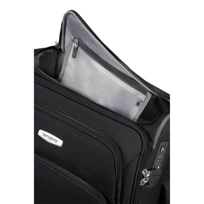 Samsonite Samsonite Spark SNG Spinner 55 Toppocket zwart  handbagagekoffer