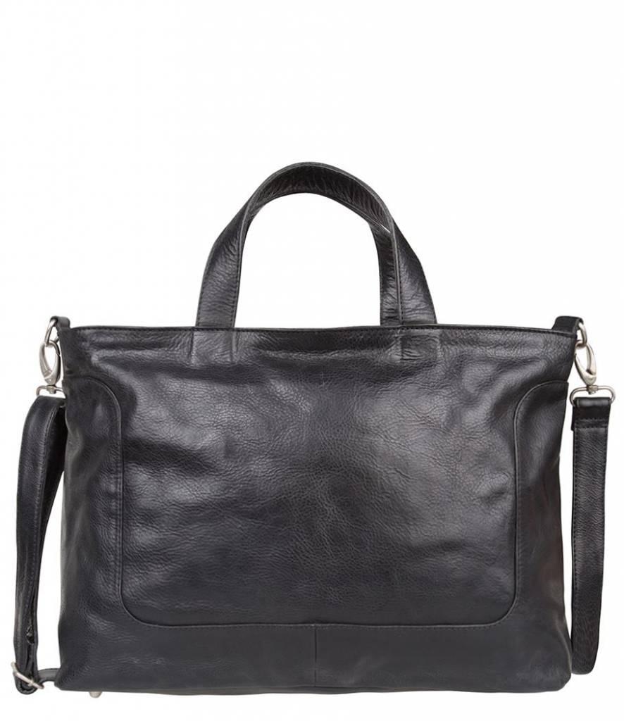 6606daca235 Cowboysbag - Bag Wick - 15.6 inch laptoptas - Black - Cargotravelshop.nl