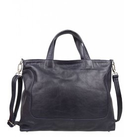 Cowboysbag Cowboysbag - Bag Wick - 15.6 inch laptoptas - Navy Blauw